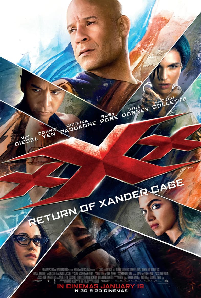 xXx: Reativado 3D 2017 Torrent - BluRay 1080p Dual Áudio