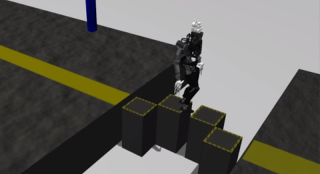 DRC Team ROBIL Simulation