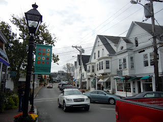 Main Street in Vineyard Haven on Martha's Vineyard