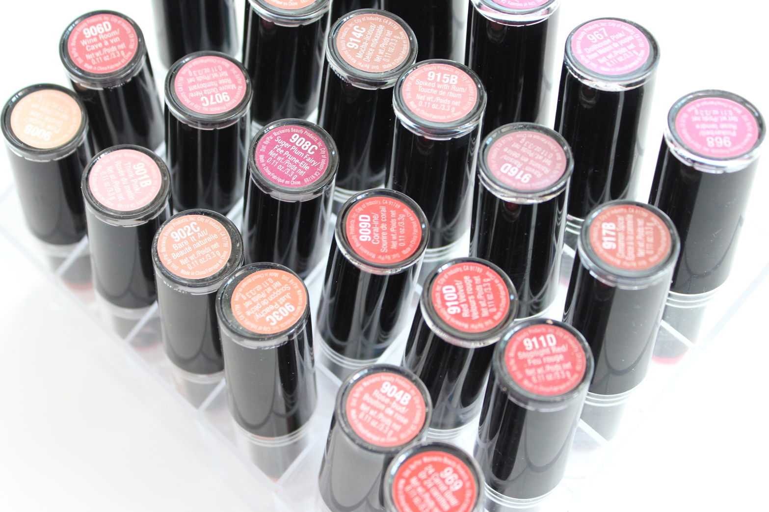 WET N WILD | MegaLast Lipsticks - Complete 26 Shade Collection + ...