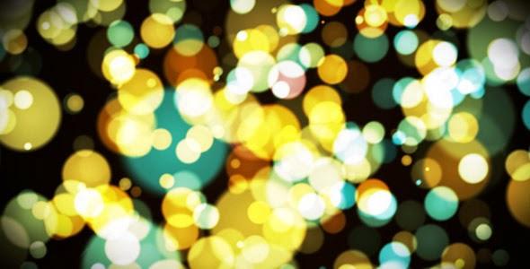 VideoHive HD Light Blurs Dance Loop