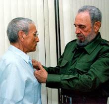 Antonio Gades y Fidel Castro