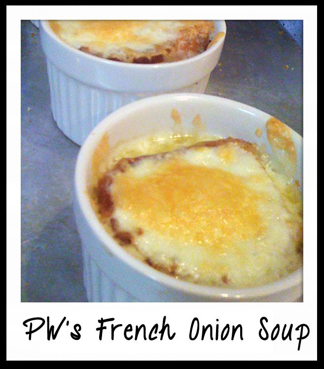 Kinda Granola: PW's French Onion Soup