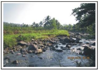 Satuan geomorfologi dataran  aluvial.