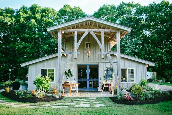 boda en un granja rehabilitada