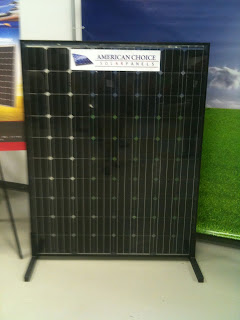 American Choice solar PV panel