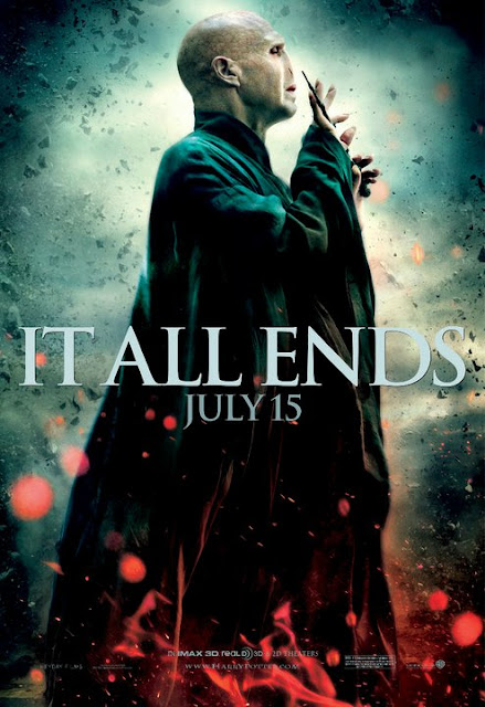 "Ultimos Posters ""It All Ends"" a un dia del estreno mundial de Harry Potter y las Reliquias de la Muerte"
