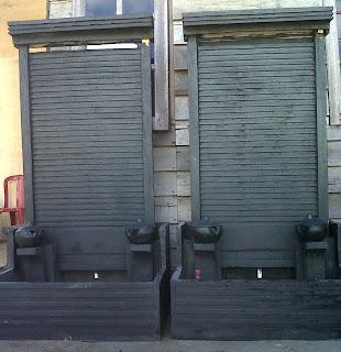 berau beton: air mancur