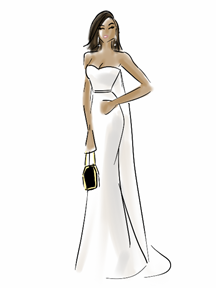 Teraji P. Henson Gown Illustration