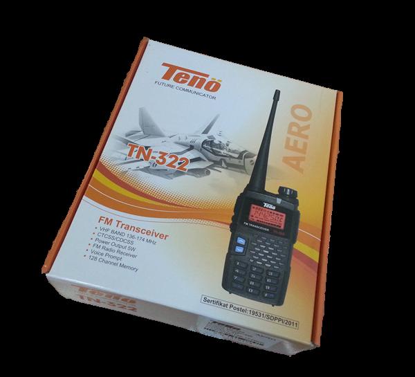Di JAMIN MURAH HARGA CUCI GUDANG RADIO HT TENO TN-322 AERO VHF, RP. 550.000/Unit.