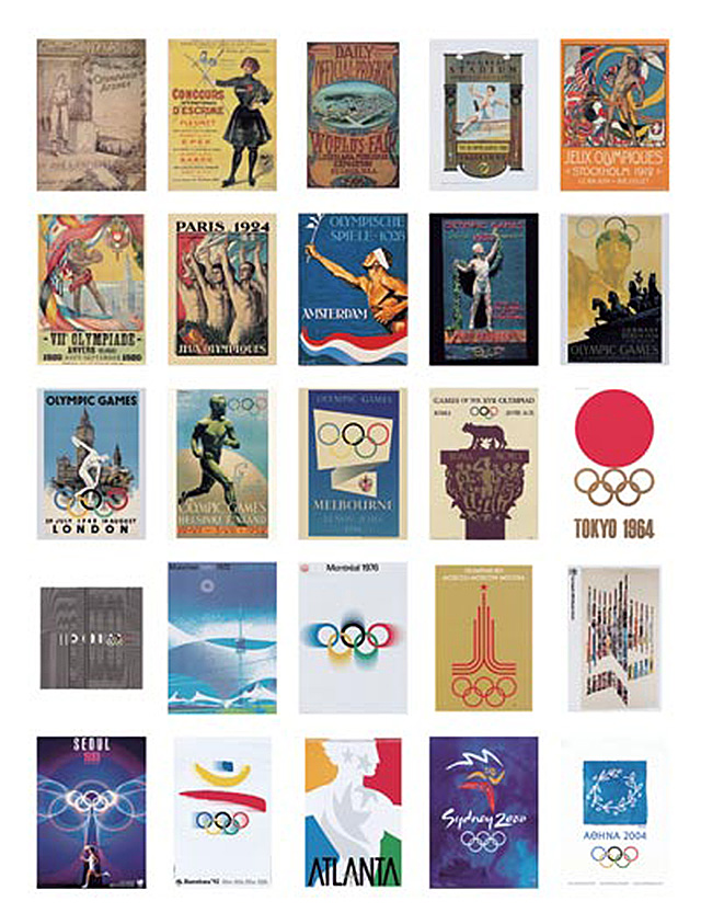 If it 39 s hip it 39 s here archives all the olympic posters for Poster prints for sale