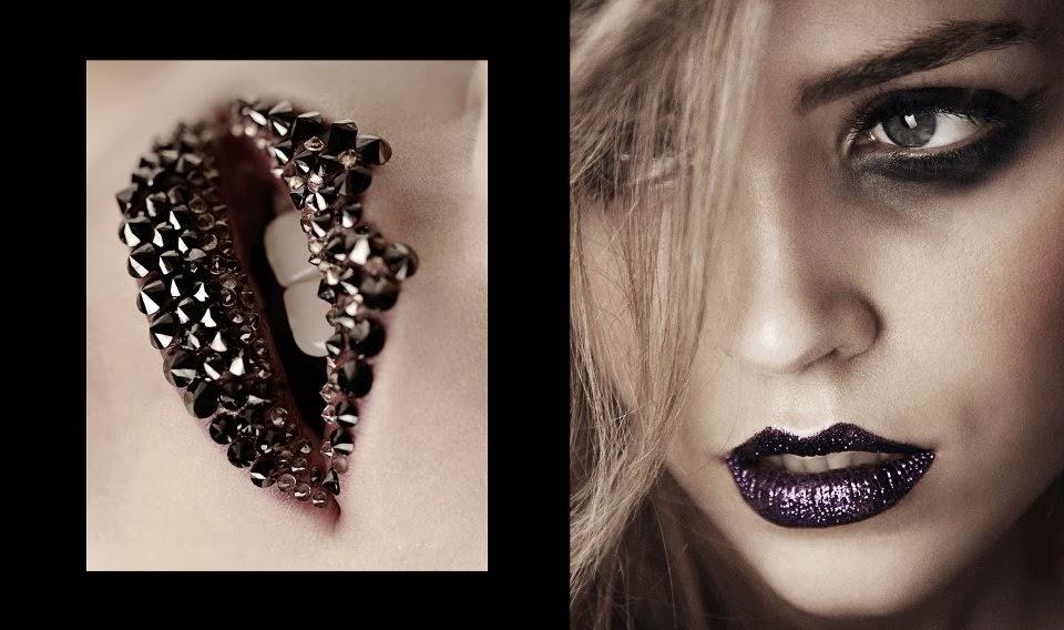 como sugerencia adems de las fotos que acompaan la entrada os aconsejo el blog de maquillaje de madame noir es un ejemplo de que unos labios negros
