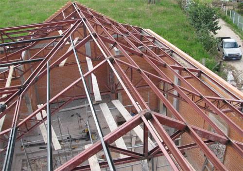 Mec nica industrial nuestros servicios - Estructuras metalicas para viviendas ...