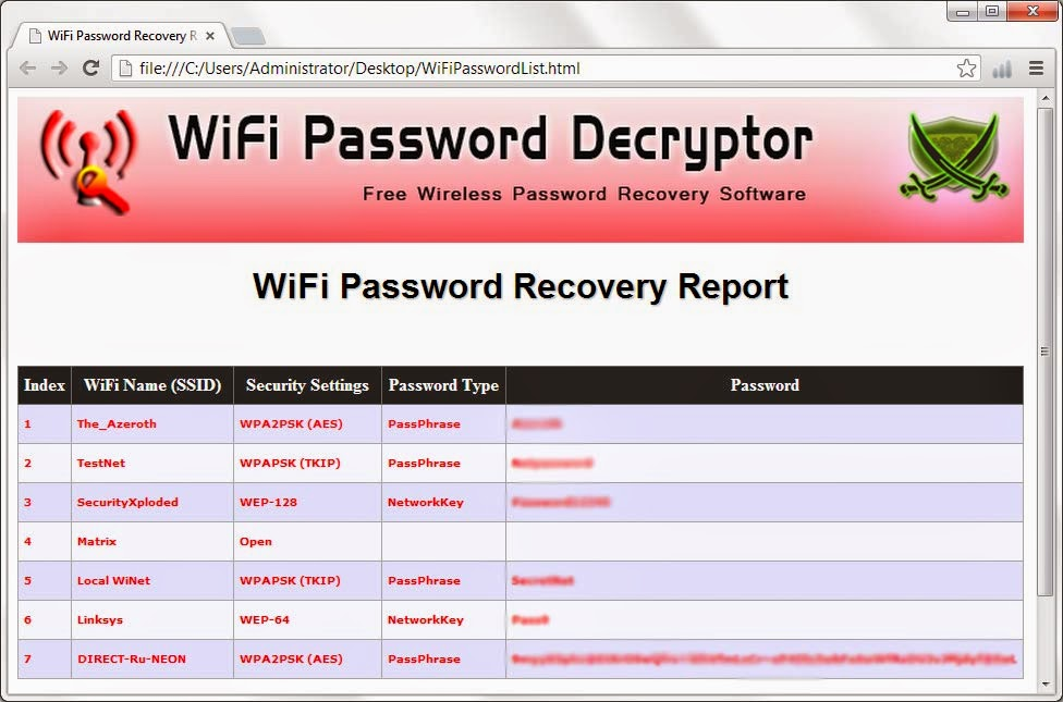 how to see saved wifi password in internet explorer