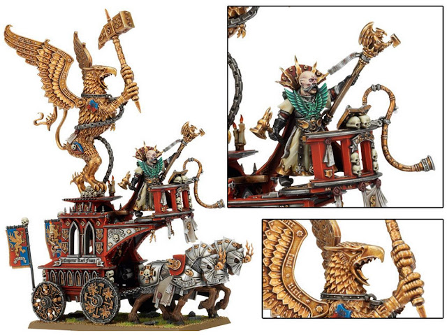 War Altar and Volkmar model
