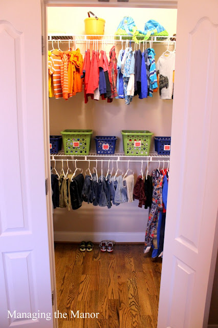 Limited Space Organizing Closet Inspiration Kid 39 S Closet