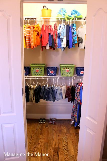 Limited Space Organizing Closet Inspiration Kid 39 S Closet