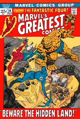 Marvels Greatest Comics #34, Fantastic Four, Inhumans and the Great Refuge