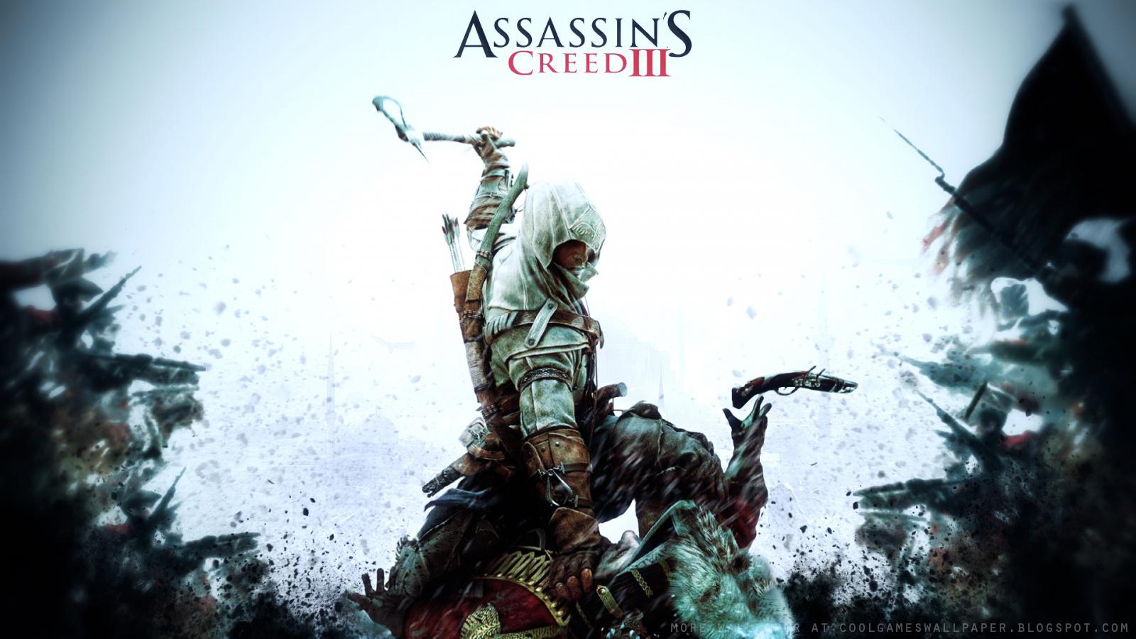 assassin's creed 3 wallpaper 2 - cool games wallpaper