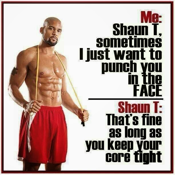 Shaun T, T25, Core