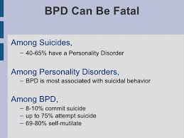 BPD and Suicide