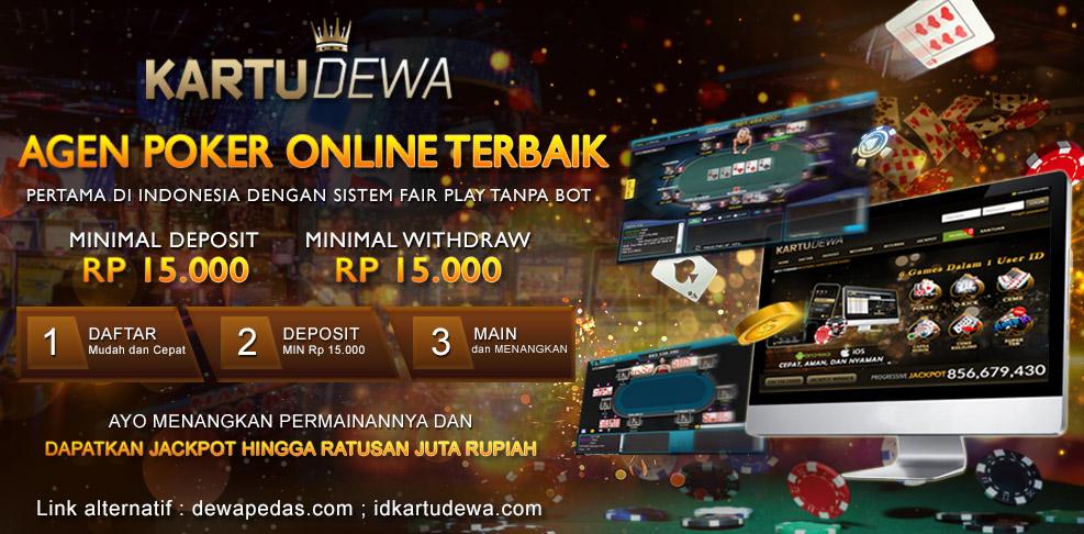 Kartu Dewa Agen Poker Judi Online Terpercaya Di Indonesia