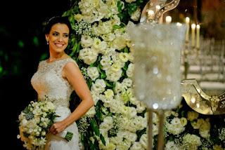 Casamento, decoração, luxo, branco e verde, patu anu, m zanirato, buquê