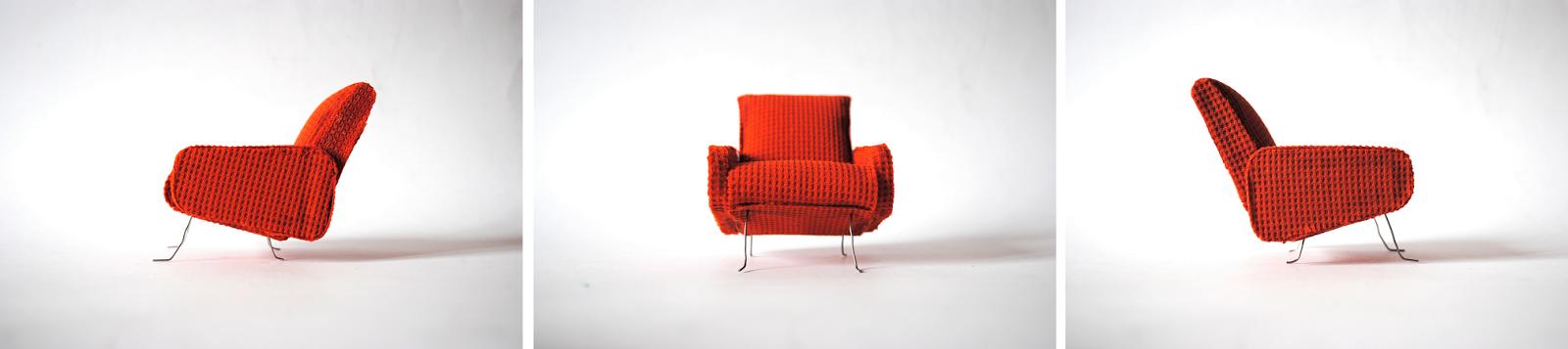 fotel Lata 50., amchair 1950s
