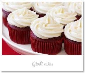 Red Velvet Cupcakes...la Receta!