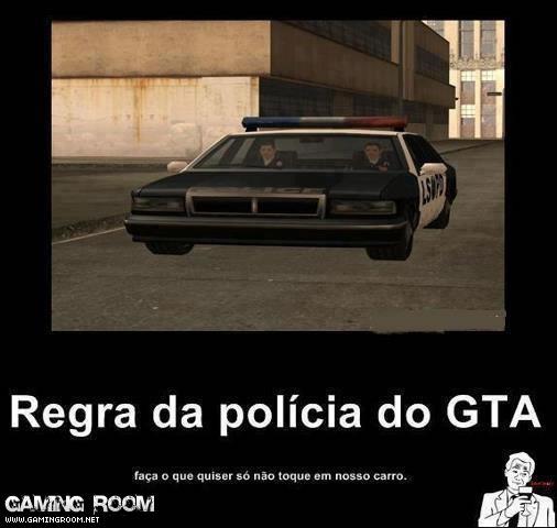Regra Da Polícia No GTA