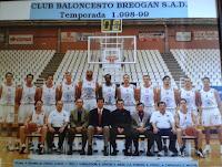C.B. BREOGÁN LUGO 1998-1999. Liga LEB