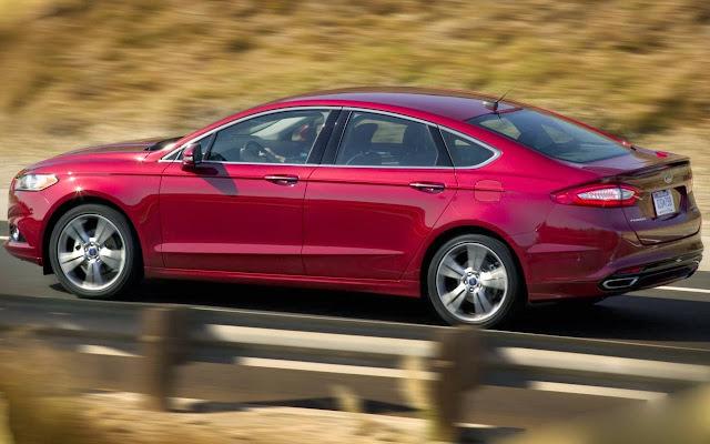 Ford Fusion - entre os dez mais vendidos nos EUA em 2013