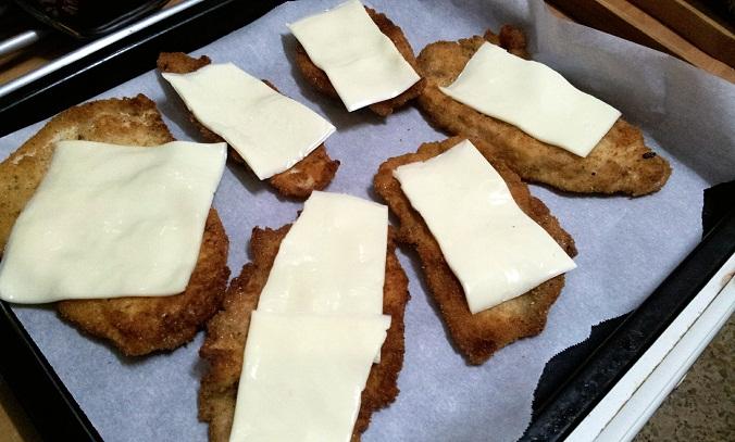 pechugas de pollo rebozadas con sabor a pizza fin