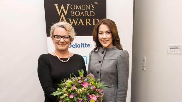Crown Princess Mary of Denmark attended ceremony of the Women's Board Award 2015