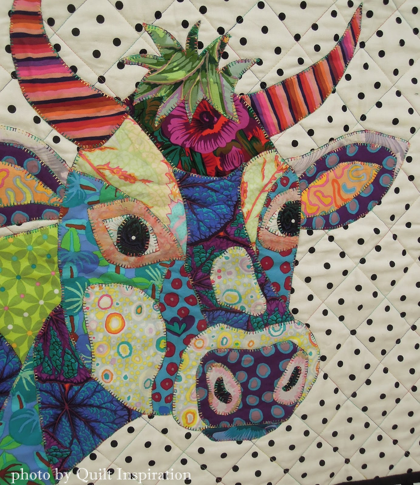 Best of the September quilt show! Day 3 | Quilt Inspiration ... : cow quilt pattern - Adamdwight.com