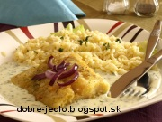 Treska s petržlenovou omáčkou - recept