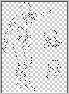 Cara Memisahkan Line Art dari Background