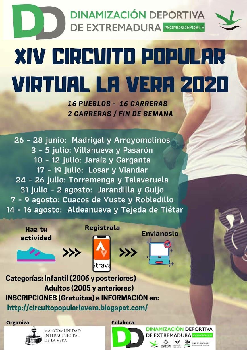 XIV EDICIÓN CIRCUITO POPULAR LA VERA
