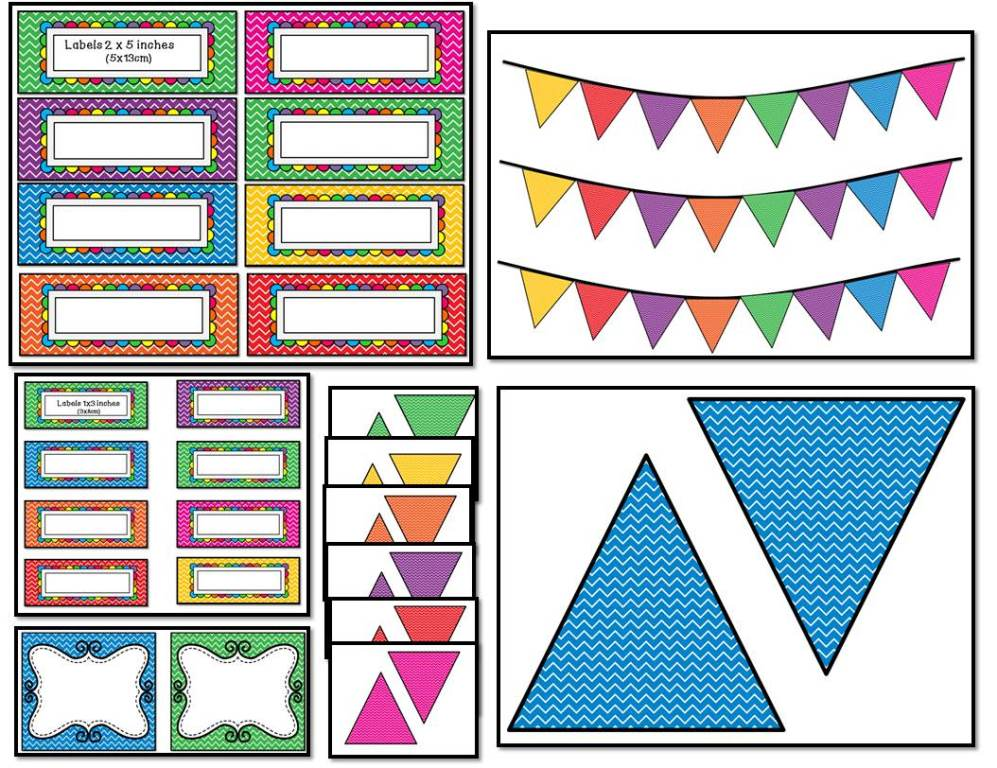 Editable Classroom Decor ~ Sarah anne s creative classroom decor bundle