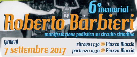 6° Memorial Roberto Barbieri