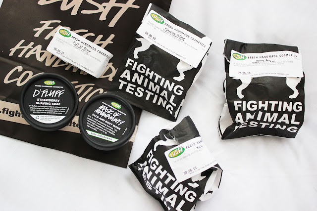 lush haul lakeside cosmetics bath body beauty skincare
