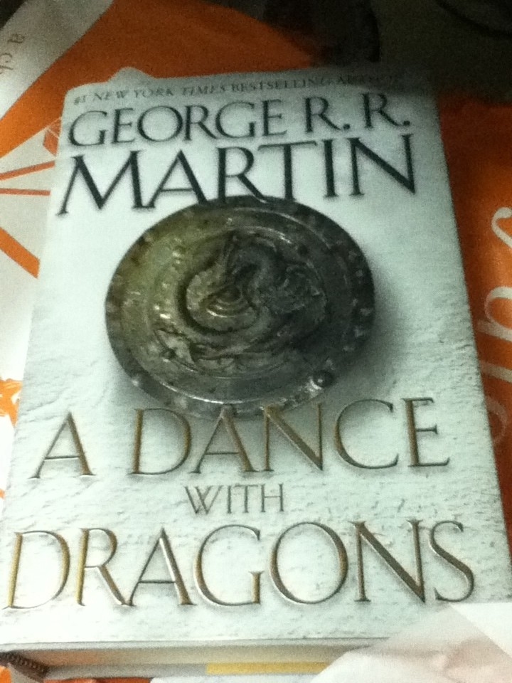 Is a dance with dragons available in paperback