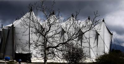 Μια μέρα στον ναό του Επικούριου Απόλλωνα με βροχές και ομίχλες