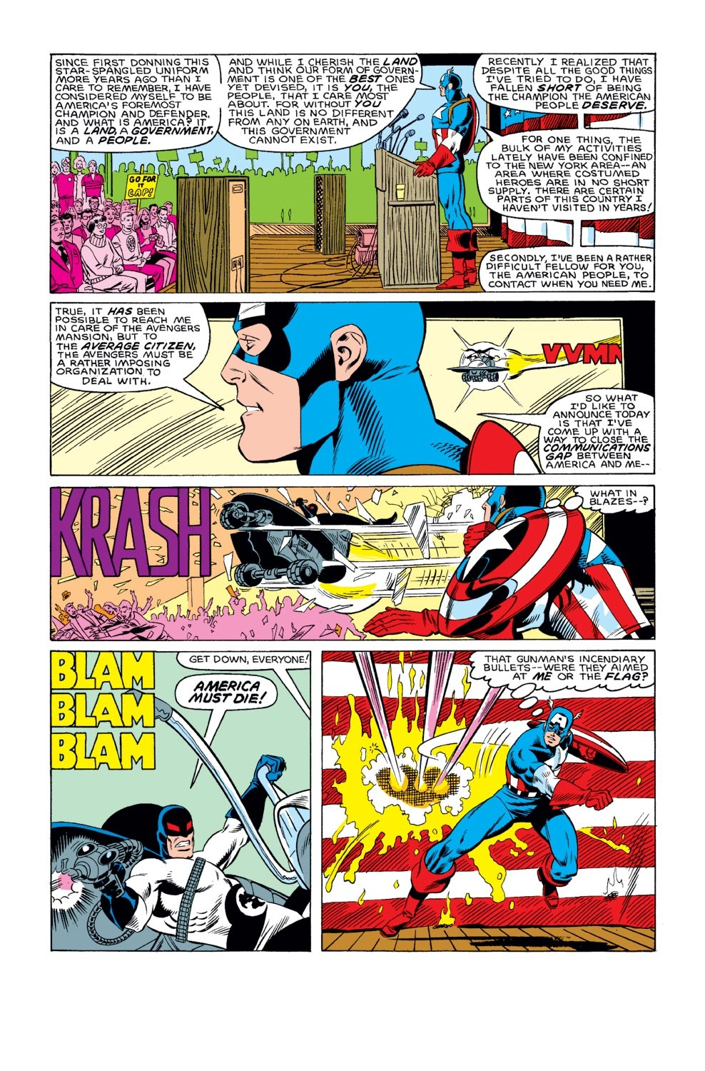 Captain America (1968) Issue #312 #240 - English 15