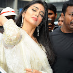 Shriya Saran Looks Hot In White Dress At The Kalamandir Store Launch