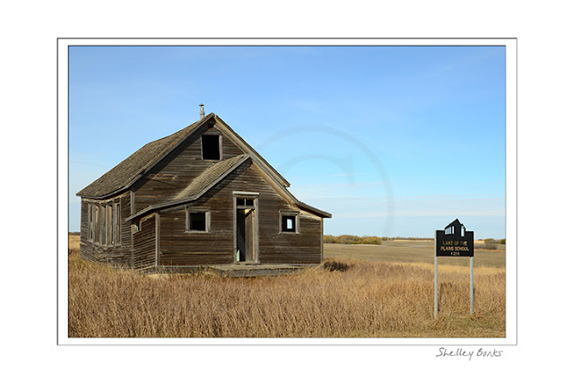 Lake of the Plains School, Saskatchewan © SB Copyright Shelley Banks, All Rights Reserved.