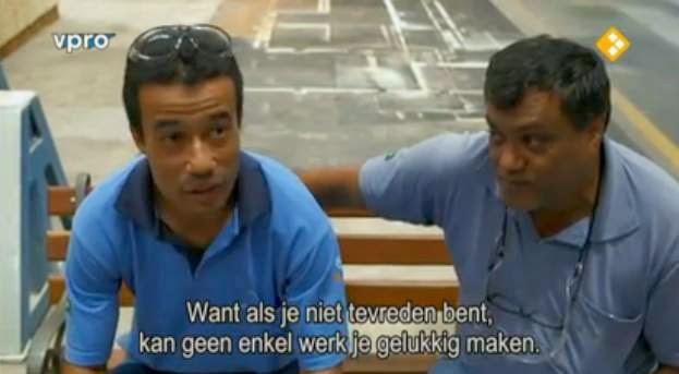 Klik op de foto voor de uitzending van VPRO Tegenlichte over De kapitale kracht van geluk.