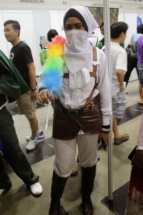 Scouting legion trainee versi hijab