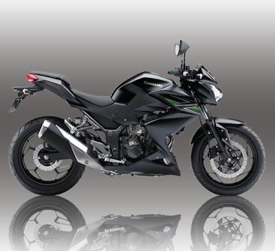 Kawasaki Z250 Black