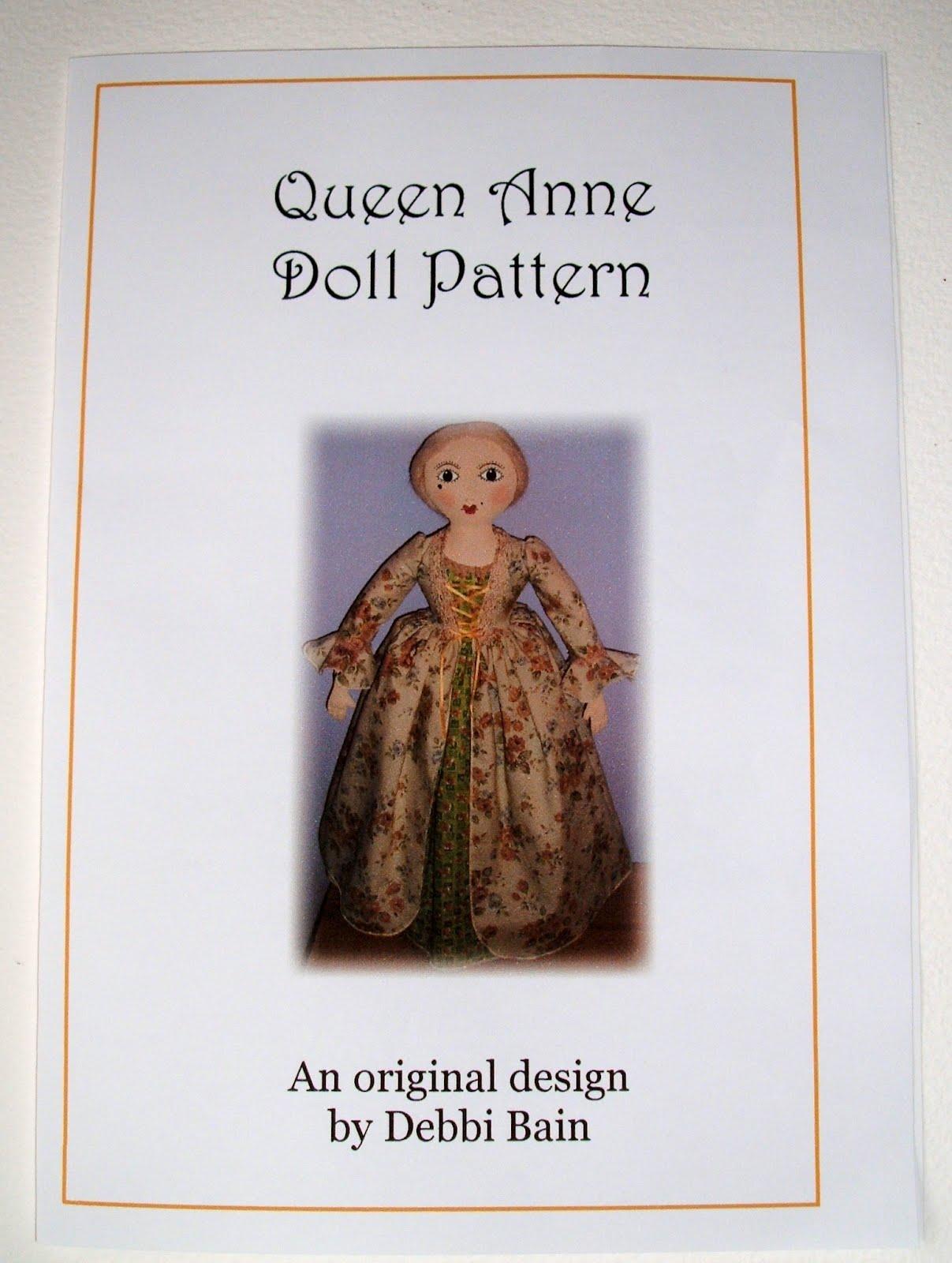 Aunt Polly S Doll Emporium Queen Anne Doll Pattern